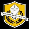 Knights of Distinction logo